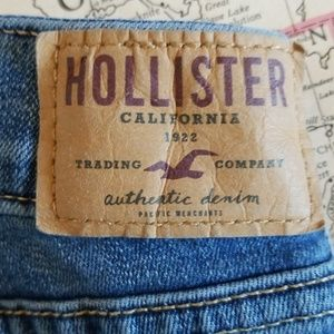 Hollister Jeans - Hollister deconstructed boot cut jeans